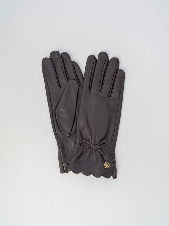 Перчатки кожа , цвет коричневый, арт. 07006074  - цена 1750 руб.  - магазин TOTOGROUP