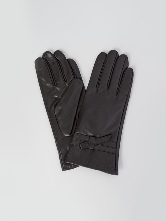 Перчатки кожа , цвет коричневый, арт. 07006091  - цена 1410 руб.  - магазин TOTOGROUP