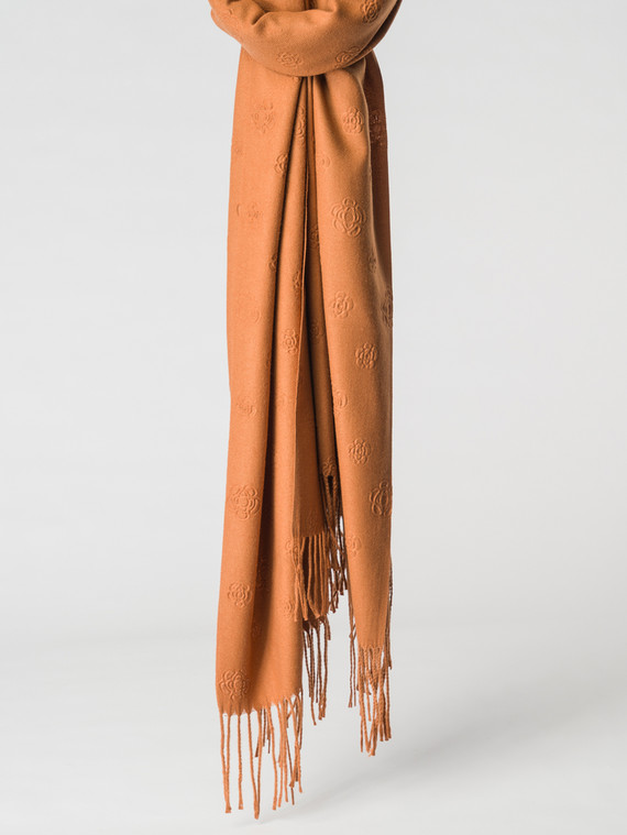 Шарф 100% кашемир, цвет коричневый, арт. 07007148  - цена 1490 руб.  - магазин TOTOGROUP
