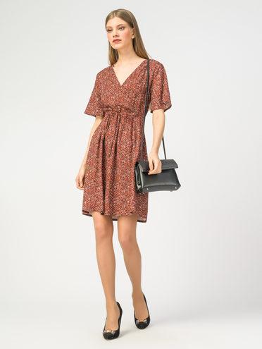 Платье 100% вискоза, цвет коричневый, арт. 07108359  - цена 1850 руб.  - магазин TOTOGROUP