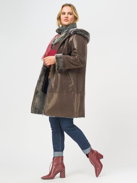 Дубленка дуб. овчина, цвет коричневый, арт. 07108903  - цена 29990 руб.  - магазин TOTOGROUP