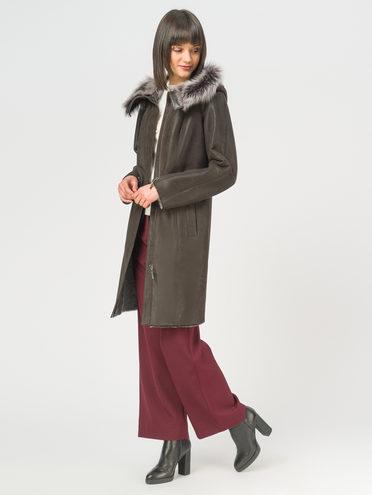 Дубленка дуб. овчина, цвет коричневый, арт. 07108905  - цена 31990 руб.  - магазин TOTOGROUP