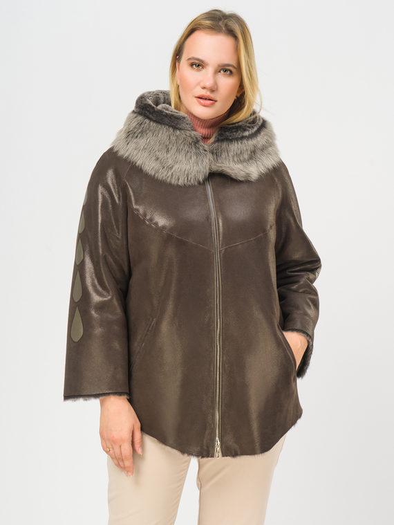 Дубленка дуб. овчина, цвет коричневый, арт. 07108913  - цена 29990 руб.  - магазин TOTOGROUP