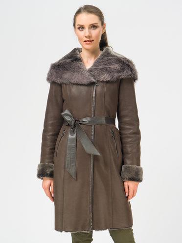 Дубленка дуб. овчина, цвет коричневый, арт. 07108915  - цена 37990 руб.  - магазин TOTOGROUP