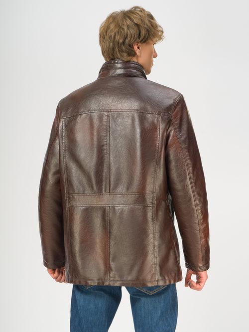 Кожаная куртка артикул 07108924/46 - фото 3