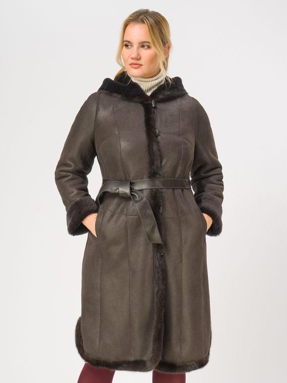 Дубленка дуб. овчина, цвет коричневый, арт. 07109070  - цена 33990 руб.  - магазин TOTOGROUP
