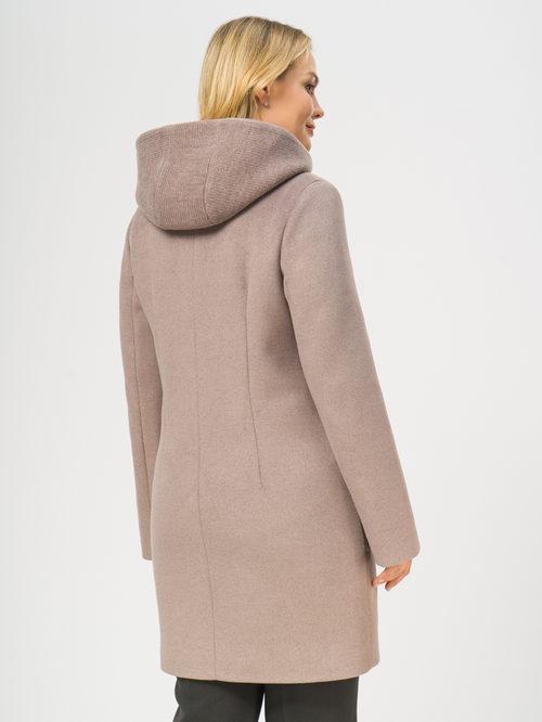 Текстильное пальто артикул 07109092/48 - фото 3