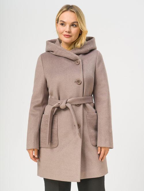 Текстильное пальто артикул 07109092/48