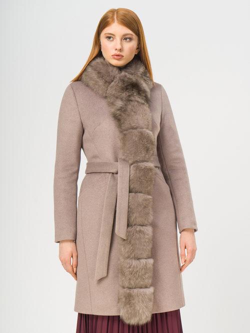 Текстильное пальто артикул 07109093/42 - фото 2