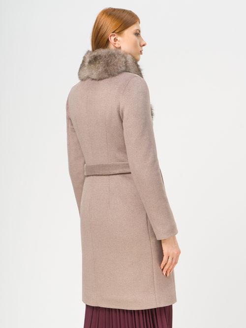 Текстильное пальто артикул 07109093/42 - фото 3