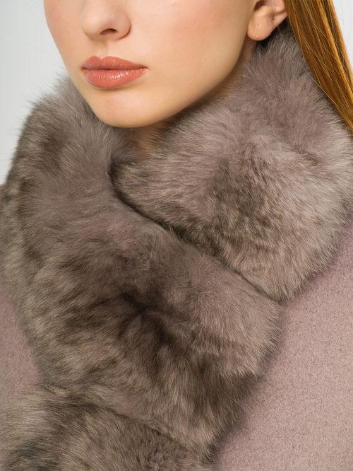 Текстильное пальто артикул 07109093/42 - фото 4