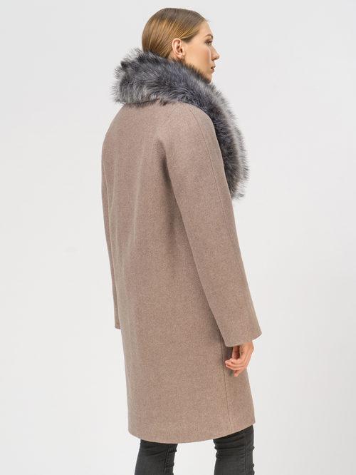 Текстильное пальто артикул 07109094/42 - фото 3