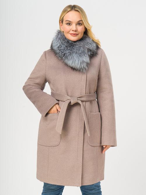 Текстильное пальто артикул 07109098/48 - фото 2