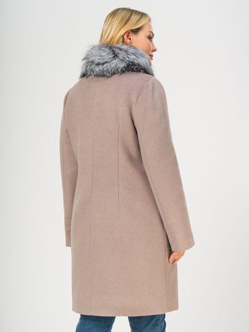 Текстильное пальто артикул 07109098/48 - фото 3