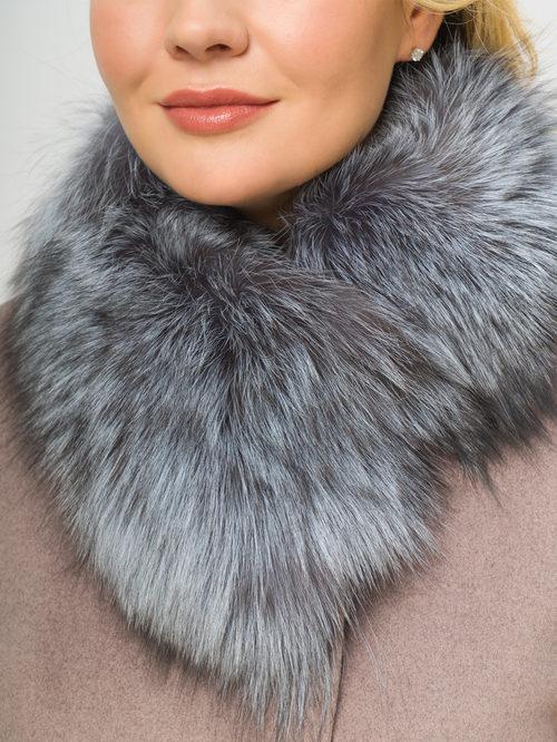 Текстильное пальто артикул 07109098/48 - фото 4