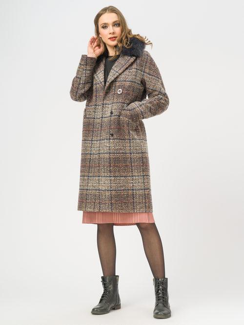 Текстильное пальто артикул 07109207/50 - фото 2