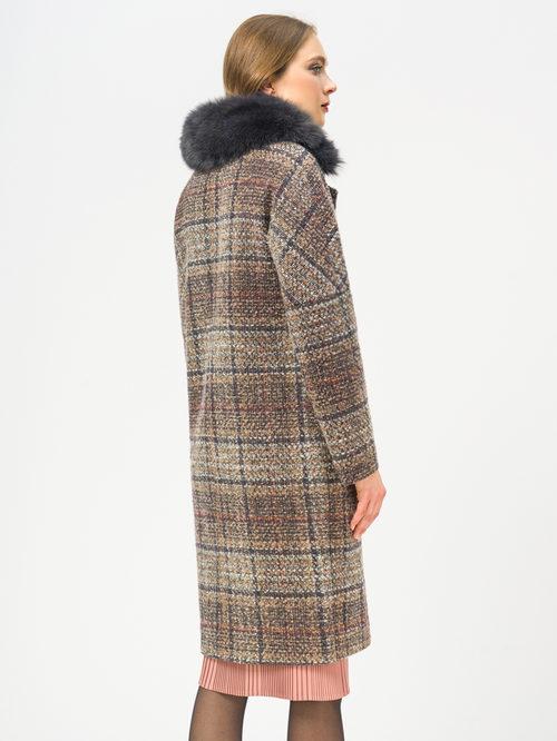 Текстильное пальто артикул 07109207/50 - фото 3