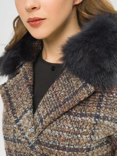 Текстильное пальто артикул 07109207/50 - фото 4