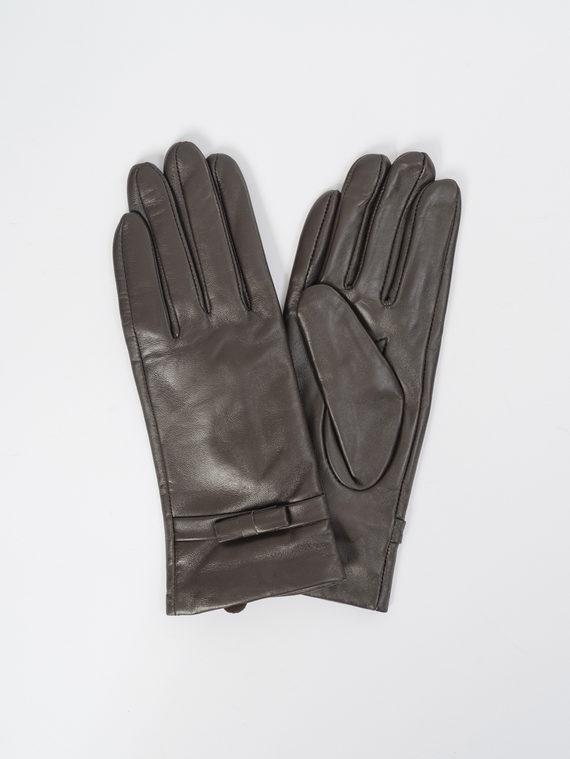 Перчатки кожа, цвет коричневый, арт. 07109399  - цена 1330 руб.  - магазин TOTOGROUP