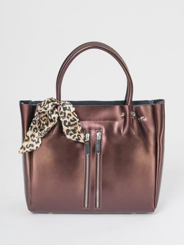 Сумка кожа теленок, цвет коричневый, арт. 07109520  - цена 5290 руб.  - магазин TOTOGROUP