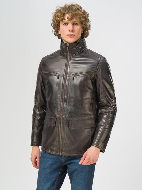 Кожаная куртка артикул 07109542/48 - фото 2