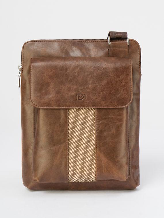 Сумка кожа теленок, цвет коричневый, арт. 07109826  - цена 4490 руб.  - магазин TOTOGROUP