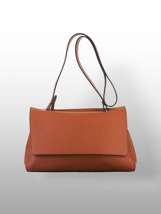 Сумка кожа флоттер, цвет коричневый, арт. 07700541  - цена 4740 руб.  - магазин TOTOGROUP