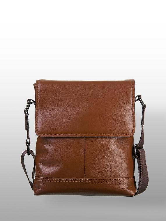 Сумка кожа теленок, цвет коричневый, арт. 07700580  - цена 3390 руб.  - магазин TOTOGROUP