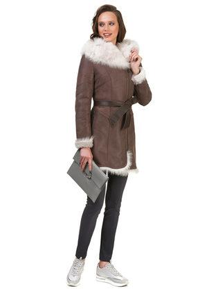 Дубленка дуб. овчина, цвет коричневый, арт. 07700613  - цена 42490 руб.  - магазин TOTOGROUP