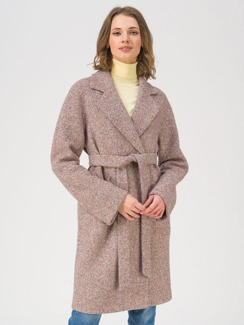 Текстильное пальто артикул 07711408/42 - фото 3