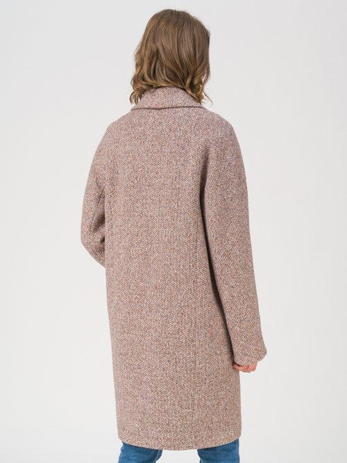 Текстильное пальто артикул 07711408/42 - фото 4