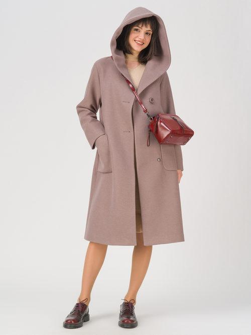 Текстильное пальто артикул 07711411/42 - фото 2