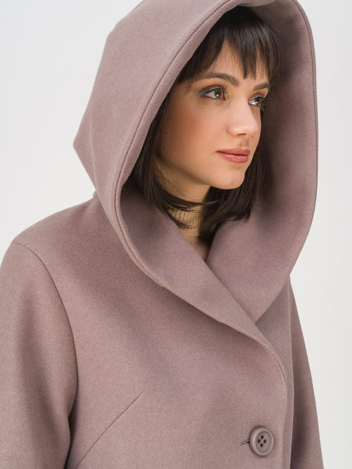 Текстильное пальто артикул 07711411/42 - фото 3