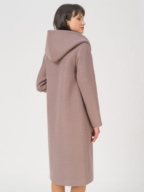 Текстильное пальто артикул 07711411/42 - фото 4