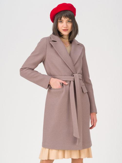 Текстильное пальто артикул 07711414/42 - фото 3