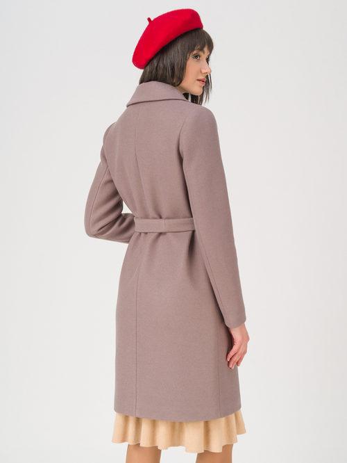 Текстильное пальто артикул 07711414/42 - фото 4