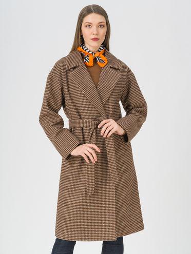 Текстильное пальто , цвет коричневый, арт. 07711449  - цена 7990 руб.  - магазин TOTOGROUP