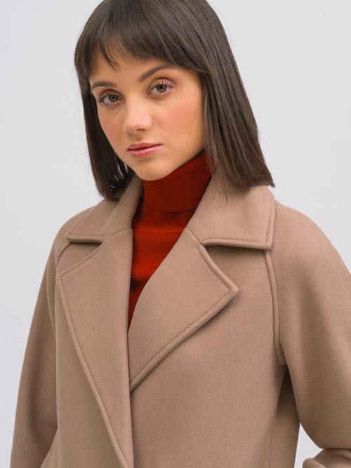 Текстильное пальто артикул 07719896/40 - фото 3