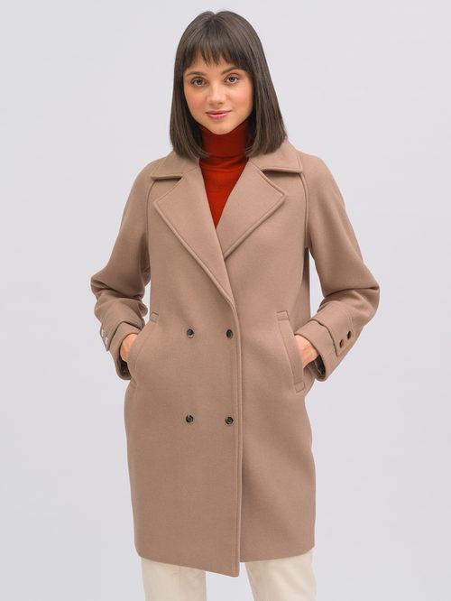 Текстильное пальто артикул 07719896/40 - фото 4