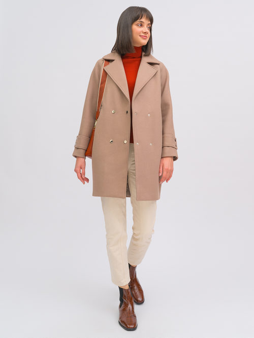 Текстильное пальто артикул 07719896/40