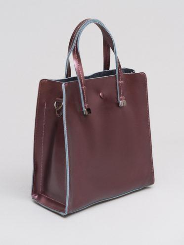 Сумка кожа теленок, цвет коричневый, арт. 07719926  - цена 5290 руб.  - магазин TOTOGROUP