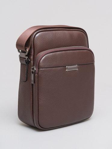 СУМКА кожа флоттер, цвет коричневый, арт. 07720069  - цена 4260 руб.  - магазин TOTOGROUP