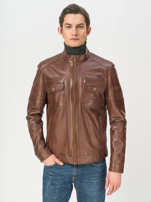 Кожаная куртка артикул 07809217/50 - фото 2