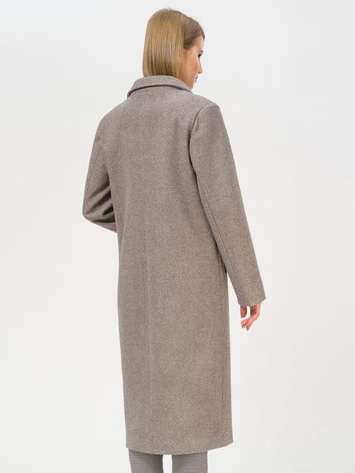 Текстильное пальто артикул 07809983/48 - фото 3