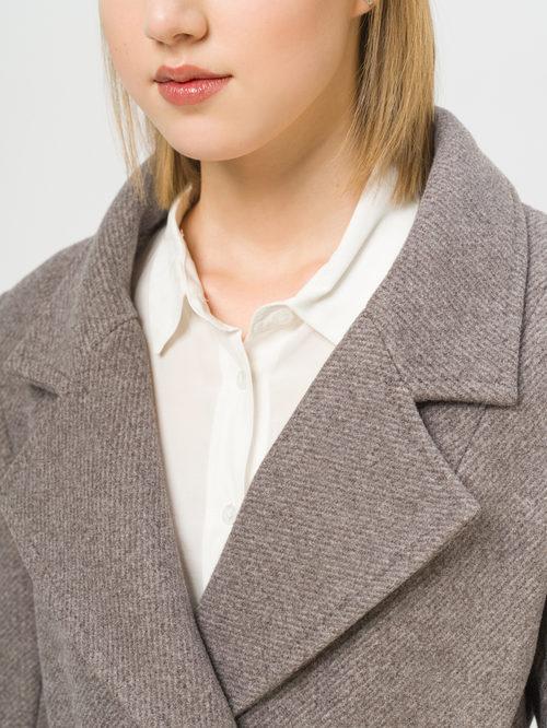 Текстильное пальто артикул 07809983/48 - фото 4