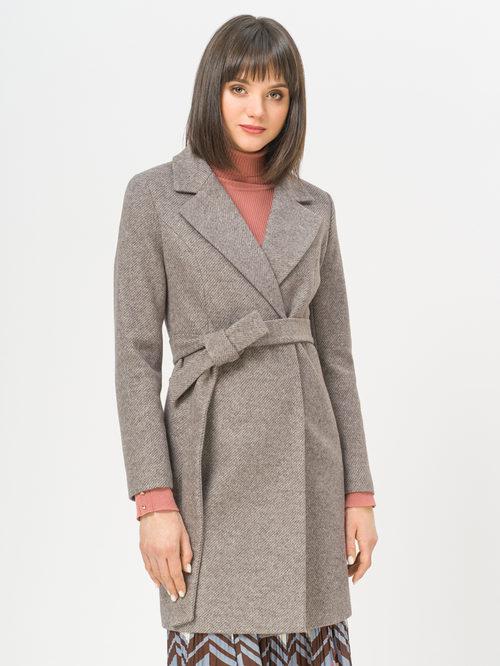 Текстильное пальто артикул 07809986/46 - фото 2