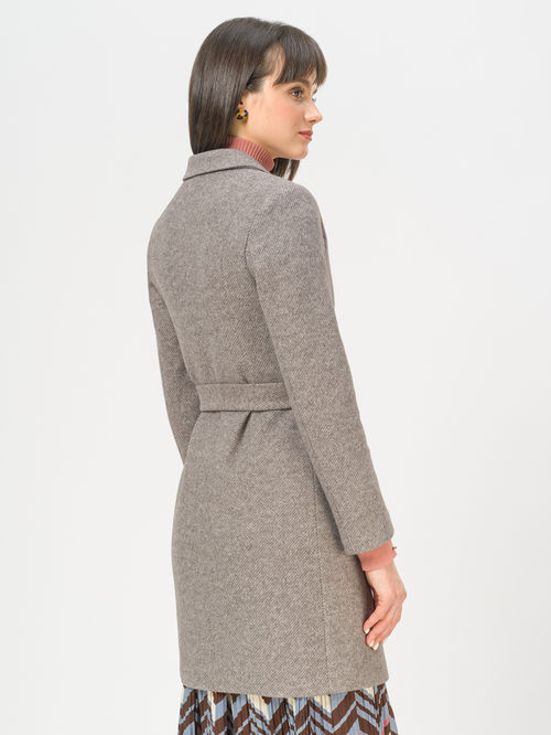 Текстильное пальто артикул 07809986/46 - фото 3