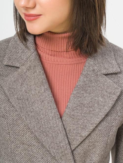 Текстильное пальто артикул 07809986/46 - фото 4