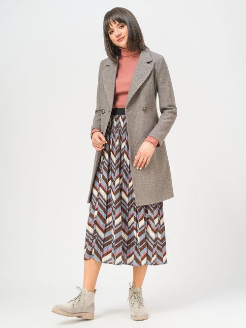 Текстильное пальто артикул 07809986/46