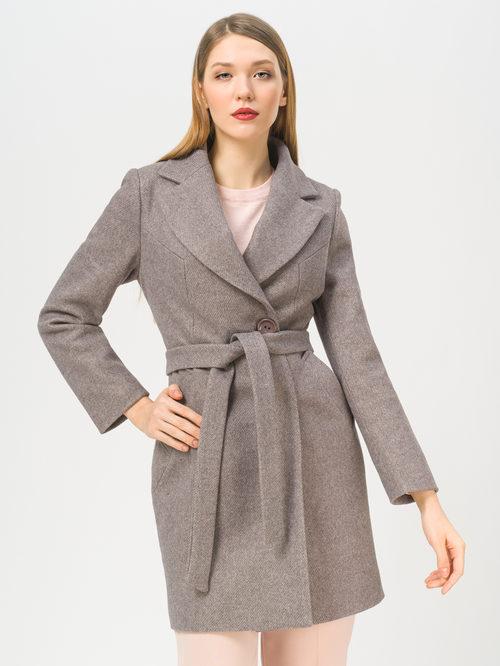 Текстильное пальто артикул 07810042/46 - фото 2